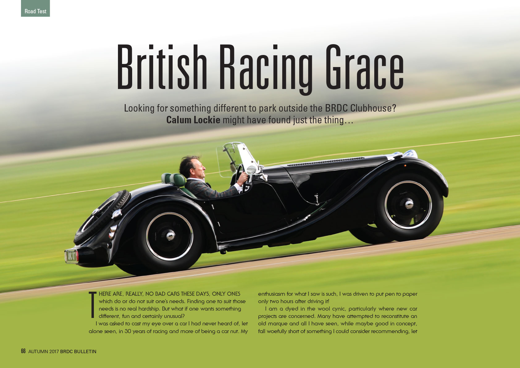 British Racing Grace